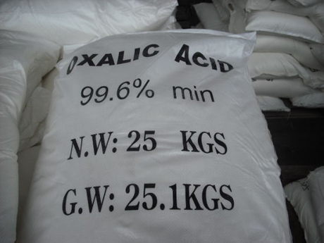 Oxalic Acid as Reductive Agent Decolorizer Idustrial Usage